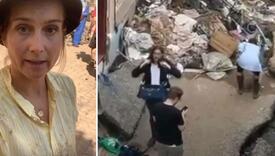 Novinarka se uoči javljanja uživo mazala blatom pa se hvalila da pomaže u čišćenju