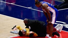 Navijač utrčao na teren usred NBA utakmice, zaštitari su bili na visini zadatka