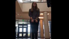 Učenica uhapšena jer je odbila nositi masku u školi