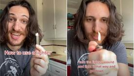 Dečko s TikToka postao hit zbog videa s upaljačem: Cijeli život ga pogrešno koristim