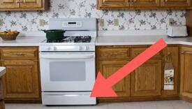 Nevjerovatno: Jeste li znali za šta služi ladica ispod šporeta?