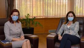 Emilija Redžepi u posjeti ministrici obrazovanja