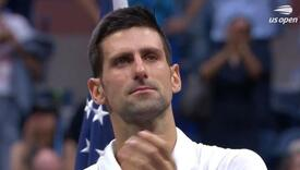 Novak Đoković zaplakao nakon poraza od Danila Medvedeva