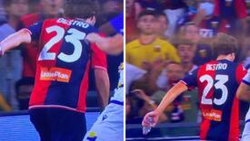 Zanimljiva scena u Italiji: Destro postigao gol s flašom u ruci