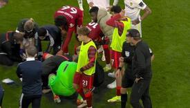 Fudbaler Liverpoola slomio nogu, saigrači u šoku