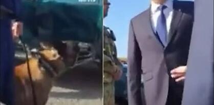 Policijski pas na granici lajao na srpskog ministra Vulina kad mu je prišao
