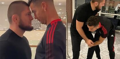 """Habib objavio video """"sučeljavanja"""" sa Ronaldom, pa poslao sjajnu poruku Portugalcu"""