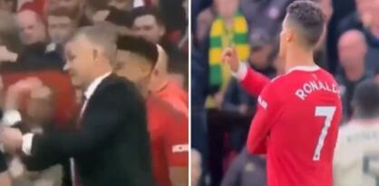 Sramotno ponašanje Ronalda: Ismijavao je Solskjaera dok im je Liverpool punio mrežu