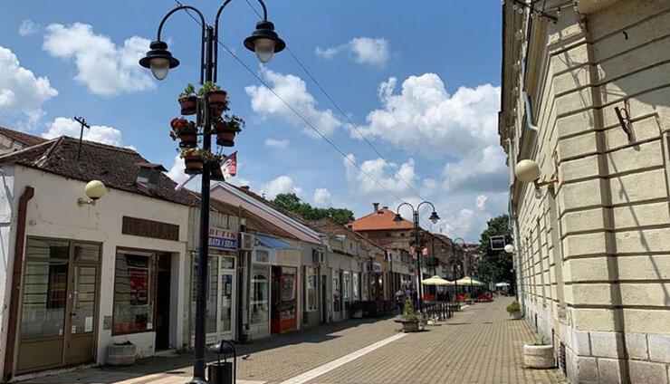 Duže od 70 godina postoji i Pelivan u centru Valjeva u pešačkoj zoni - ulici Knez Miloševoj
