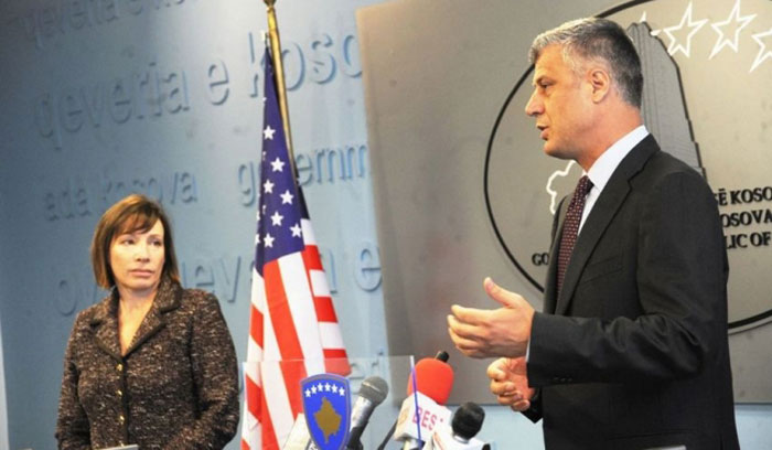 Jacobson sa Thaçijem o napretku Kosova