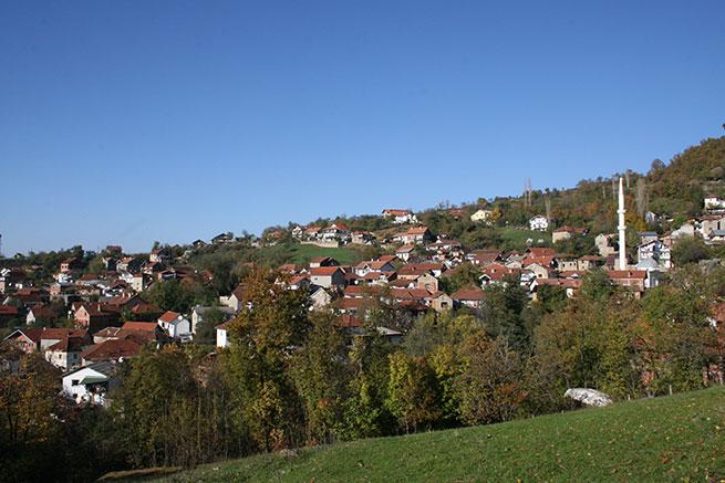 Selo Grnčare u Podgori