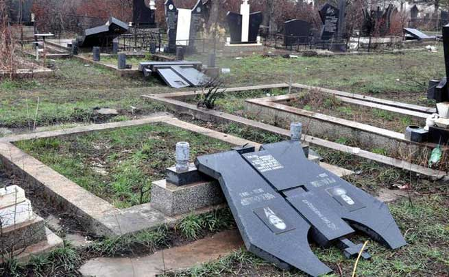 Groblje, Kosovo Polje/foto Beta