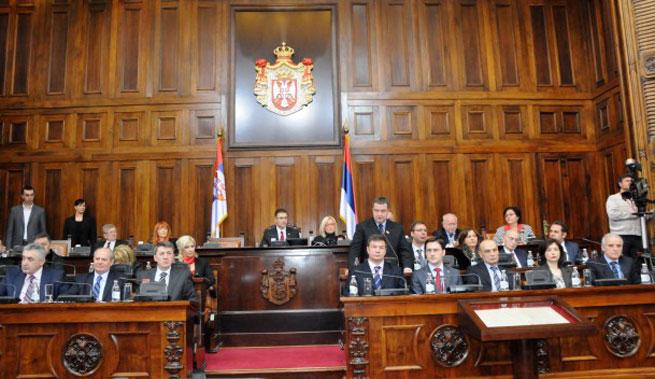 O prijedlogu rezolucije o Kosovu u Skupštini Srbije