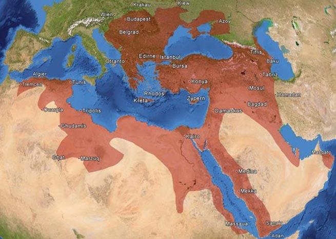 Dvadeset razloga propasti Osmanlijske države