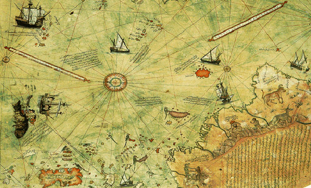Turski moreplovac prije 500 god. nacrtao satelitski tačnu kartu svijeta
