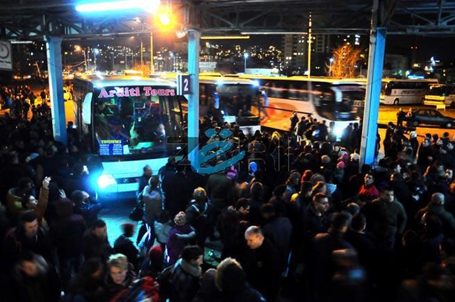 I večeras iz Prištine put Beograda otišlo pet autobusa