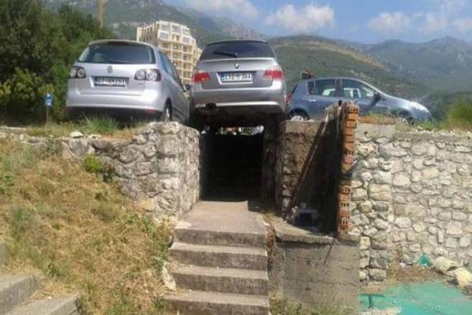Bosanac izveo najluđe parkiranje u Crnoj Gori?!  Info-KS.net