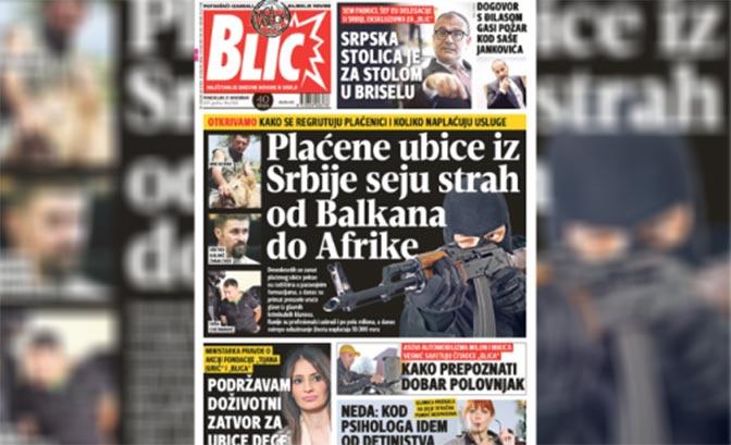 Bildergebnis für plaćene ubice iz srbije