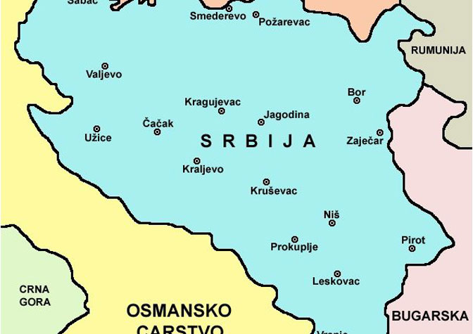karta srbije sa granicama KOSOVO NIJE SRBIJA: Ovo je karta međunarodno priznate Srbije iz  karta srbije sa granicama