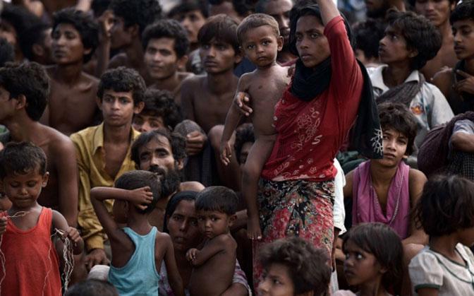 Image result for Muslimani u Sandžaku prikupljaju novčanu pomoć za Rohingya muslimane
