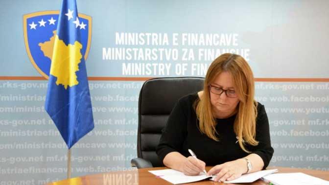Bivša ministarka finasija