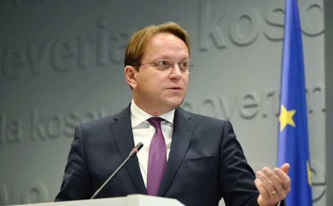 Evropski komesar za proširenje