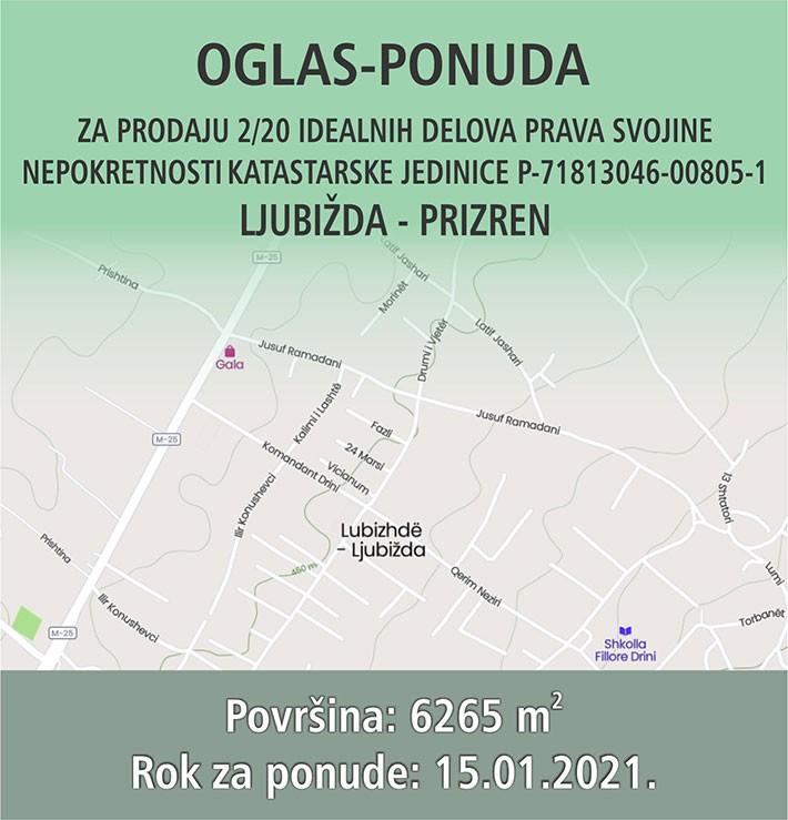 OGLAS - PONUDA