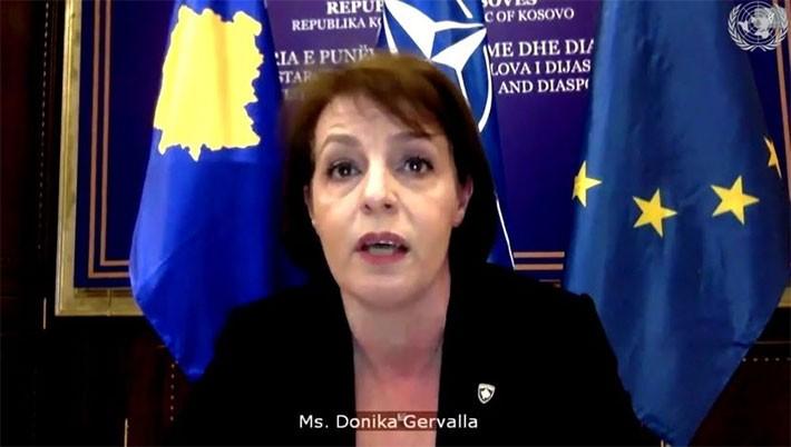 Aktuelna ministarka spoljnih poslova