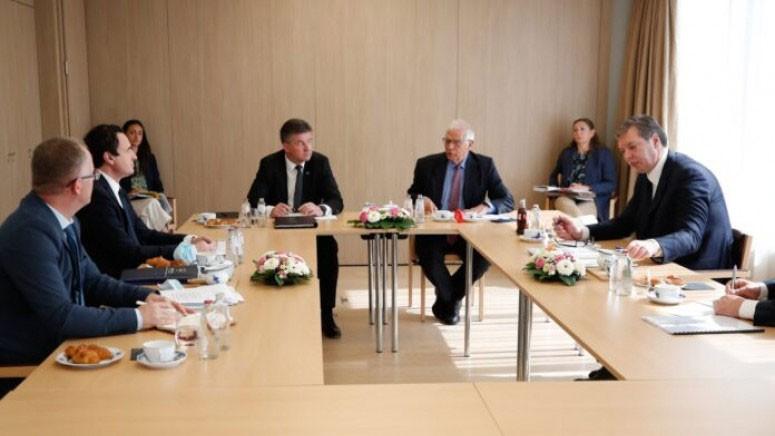Lideri Kosova i Srbije