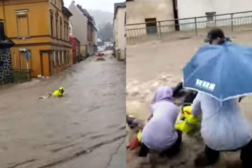 Obilne kiše u Njemačkoj