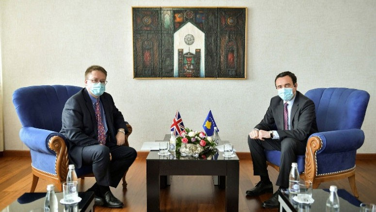 Britanski ambasador na Kosovu