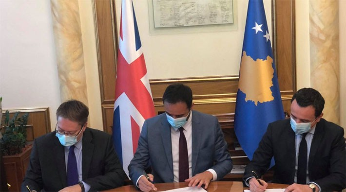 Abot, Konjufca i Kurti potpislai memorandum